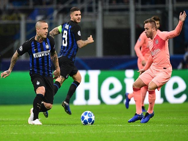 Kết quả bóng đá Inter Milan - Barcelona: Ngôi sao đua tài bốc lửa