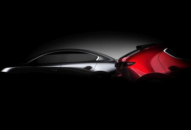Mazda 3 2019 tiếp tục lộ teaser, xác nhận ra mắt vào cuối tháng 11/2018 - 1