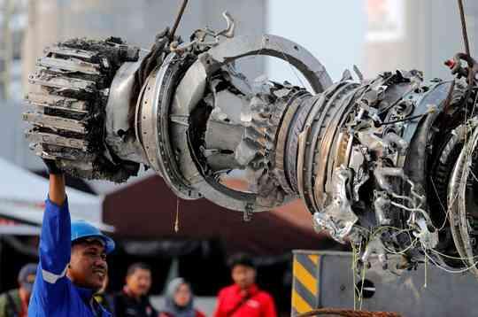 Máy bay Lion Air rơi sau khi thay thiết bị cảm biến quan trọng - 1