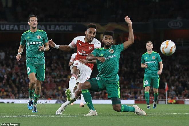 Arsenal - Sporting: Bắn phá chướng ngại bay qua vòng bảng - 1