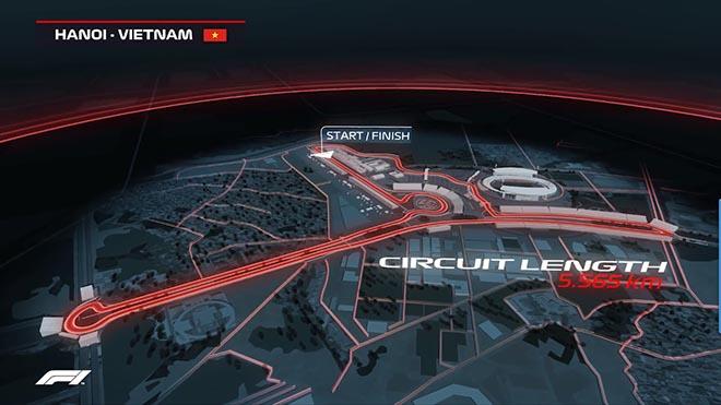 """Đường đua F1 Việt Nam sẽ lạ nhất thế giới: Nghẹt thở """"bay"""" 340 km/h - 1"""