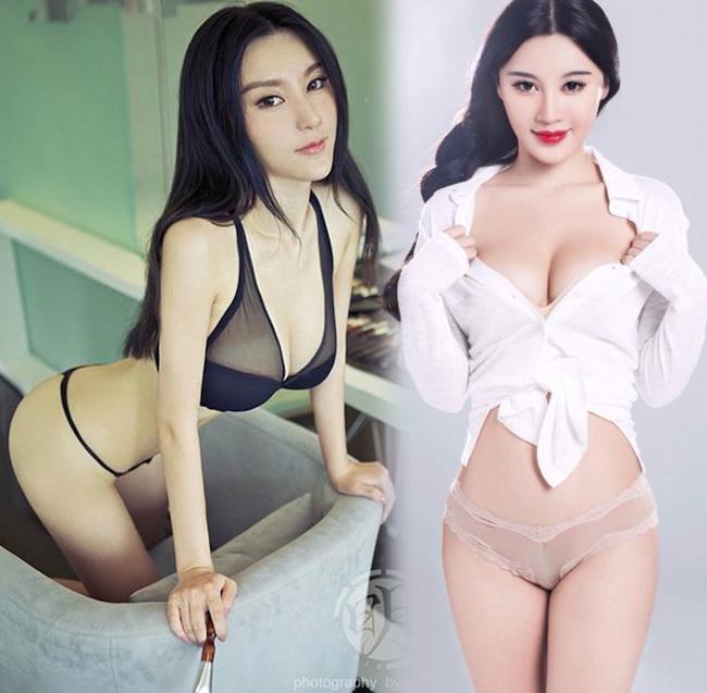 """Loạt """"thánh nữ vòng 1"""" Trung Quốc lộ bí mật nở ngực - 1"""