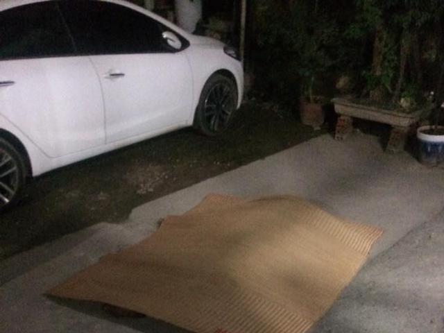 Nam thanh niên tử vong trước cửa ngôi nhà 5 tầng tại Mỹ Đình
