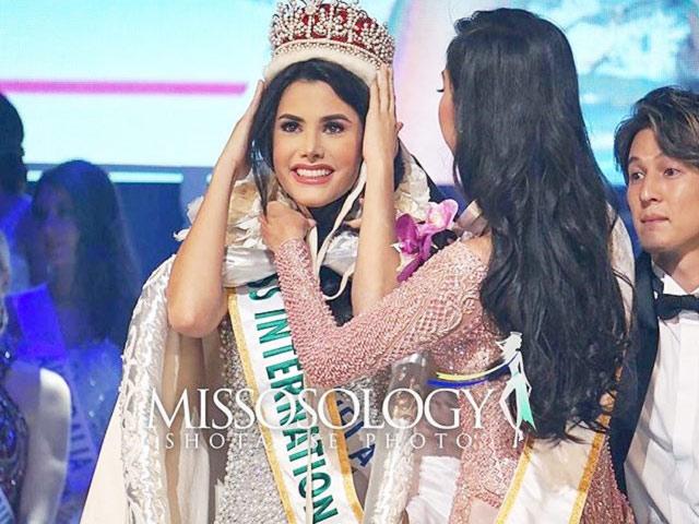 Venezuela đăng quang Hoa hậu Quốc tế, người đẹp Việt Nam trắng tay toàn phần