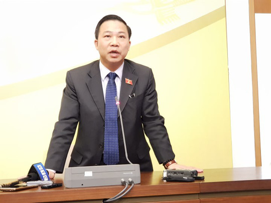 """ĐB Lưu Bình Nhưỡng: """"Tôi nghiêm túc chấp hành và chờ ý kiến của Đảng đoàn QH"""" - 1"""