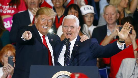 """Ông Trump phái phó tướng tới châu Á để """"đấu"""" Trung Quốc - 1"""