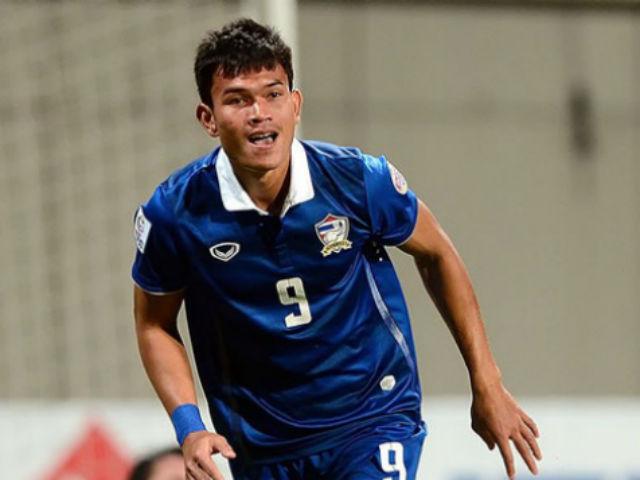 """SAO Thái Lan bùng nổ 6 bàn /trận: """"Vua phá lưới"""" AFF Cup lộ diện?"""