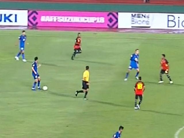"""Timor Leste - Thái Lan: Ngây ngất """"đại tiệc"""" 7 bàn của Nhà vua (AFF Cup)"""