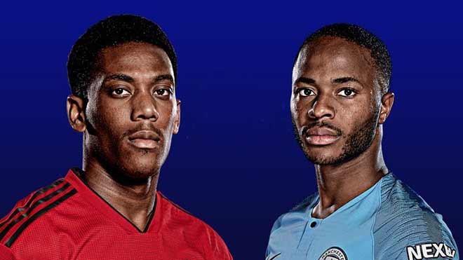 """Derby Manchester: Định đoạt bởi """"gà son"""" Martial hay Sterling - 1"""