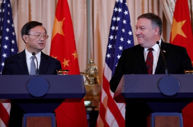 """Mỹ-Trung đối đáp """"nảy lửa"""" về Đài Loan, Biển Đông - 1"""