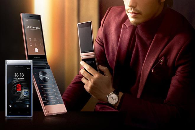 Điện thoại vỏ sò hạng sang Samsung W2019 chính thức ra mắt - 1