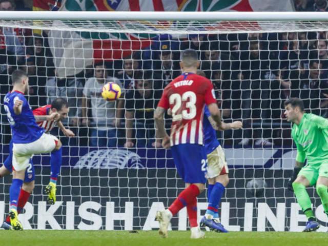 Video, kết quả bóng đá Atletico - Bilbao: Bùng nổ bàn ấn định phút 90+1