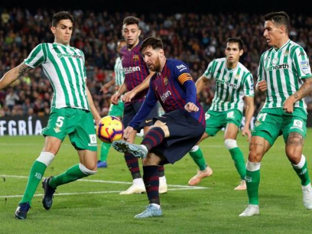 """Chấm điểm siêu sao vòng 12 La Liga: """"Cánh én"""" Messi ở Nou Camp"""
