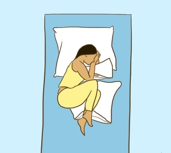 Bật mí các tư thế ngủ 'tốt hơn thần dược' giúp bạn đẩy lùi bệnh tật - 1