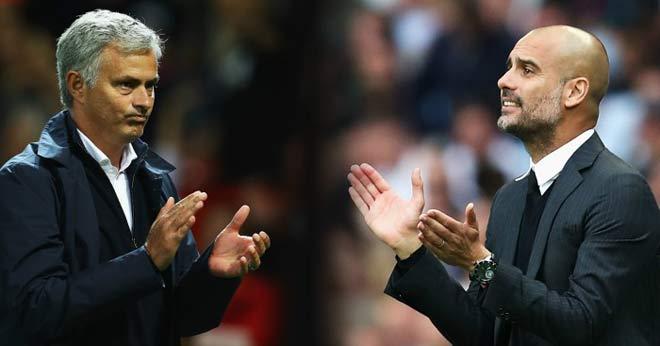"""MU """"ngước nhìn"""" Man City: Mourinho chưa bao giờ là đối thủ của Pep - 1"""