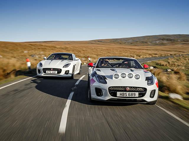 Jaguar giới thiệu thêm phiên bản F-Type Rally