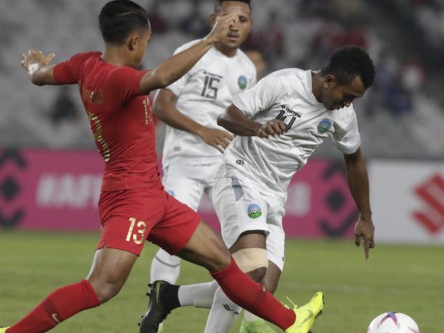 Indonesia - Timor Leste: 2 sai lầm tai hại và kịch tính bất ngờ (AFF Cup)