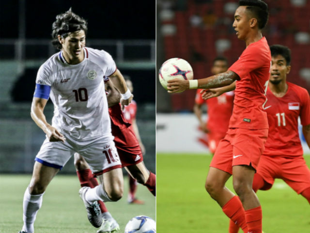 """Trực tiếp bóng đá Philippines - Singapore: HLV Eriksson và SAO 92 tỷ đồng dọa """"Sư tử"""" (AFF Cup 2018)"""