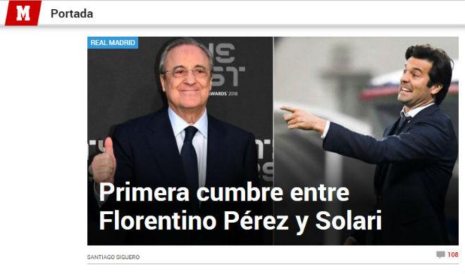 Báo chí khen Solari xuất chúng như Zidane, phe Barca nói lời bất ngờ - 1