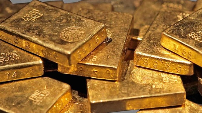 Today's gold price 11/14: Gold under pressure, breaking the bottom 1 month - 1