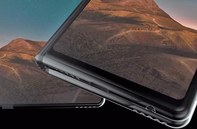 Galaxy F có thể gập lại đẹp khó cưỡng trong video mới - 1
