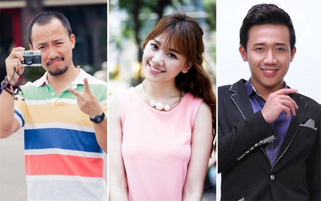 """Bị nhắc tên tình cũ Tiến Đạt, vợ chồng Trấn Thành, Hari Won phản ứng """"lạ"""" - 1"""