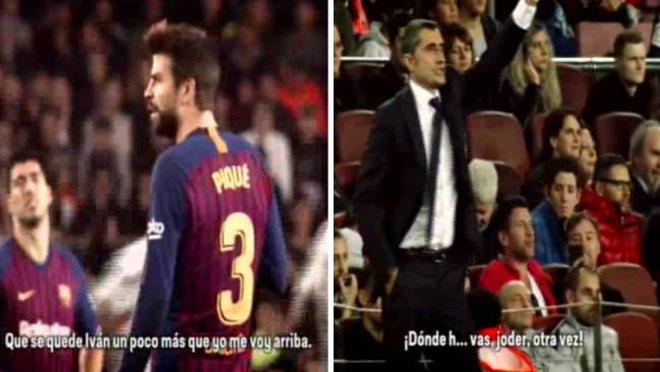 Barca thua sốc loạn phòng thay đồ: Messi bất lực với Pique - 1