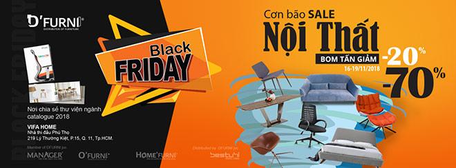"""Đón Black Friday -  Home'furni: mua 1 tặng 1 – giảm """"bom tấn"""" - 1"""