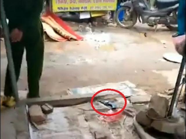Vụ cô gái bán đậu bị bắn giữa chợ: Tiết lộ nội dung tin nhắn của nghi phạm