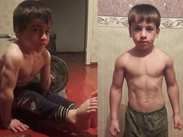 Nhóc 5 tuổi gây sững sờ sức mạnh thế giới: Chống đẩy 4105 lần liên tiếp