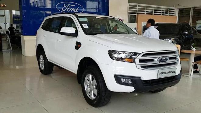 Ford Everest 2018 bản giá rẻ đã có mặt tại đại lý, giá đề xuất từ 999 triệu đồng - 1