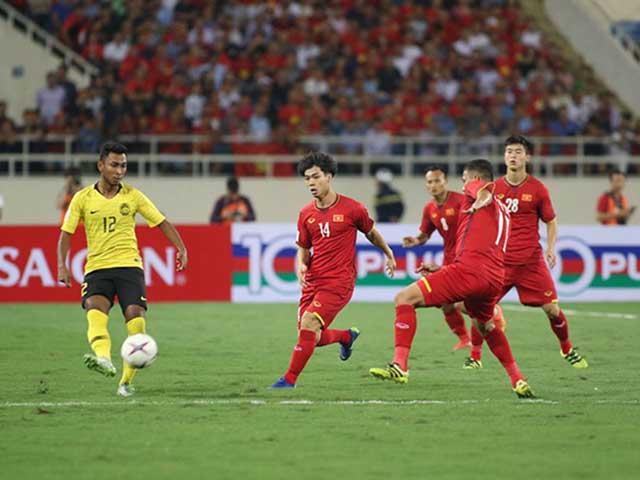 Trực tiếp Việt Nam - Malaysia: Công Phượng mở tỷ số (AFF Cup)