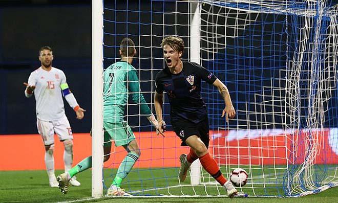 Croatia - Tây Ban Nha: Rượt đuổi nghẹt thở vỡ òa phút bù giờ - 1