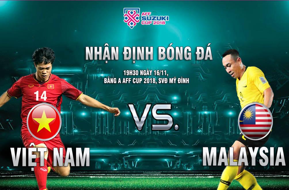 Việt Nam - Malaysia: Công Phượng so tài Talaha 3 bàn/2 trận (AFF Cup 2018) - 1