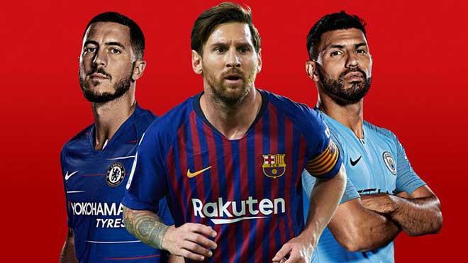 Top SAO xưng hùng châu Âu: Messi số 1, bất ngờ Ronaldo - 1