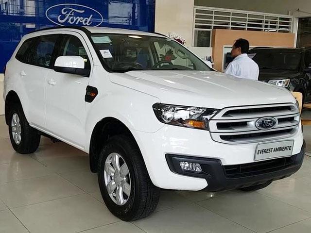 Ford Everest 2018 bản giá rẻ đã có mặt tại đại lý, giá đề xuất từ 999 triệu đồng
