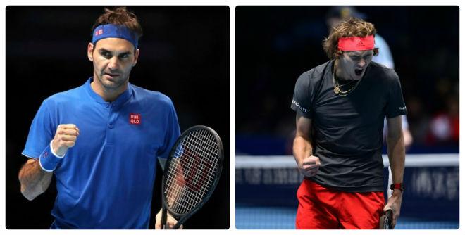 Bán kết ATP Finals: Federer cảnh giác Zverev, hẹn Djokovic tranh ngôi báu - 1
