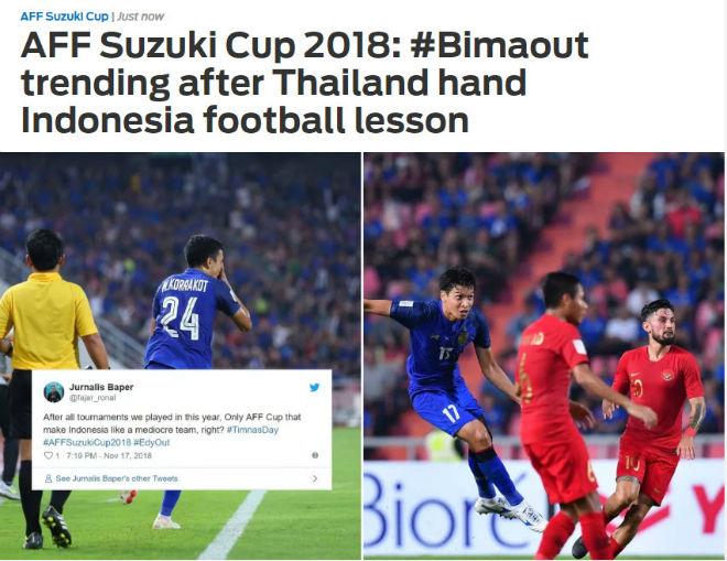 """Thái Lan """"dạy"""" Indonesia bài học AFF Cup: Triệu fan đòi sa thải huyền thoại - 1"""