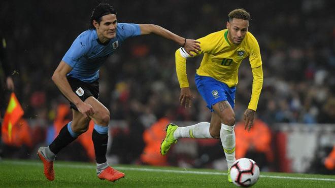 Brazil - Uruguay: 90 phút rực lửa Neymar đấu Cavani, Suarez - 1