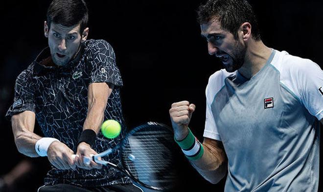 Djokovic - Cilic: Tie break căng thẳng & tấm vé như ý - 1