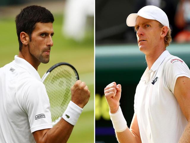 """Trực tiếp tennis Djokovic - Anderson: Nole quyết đấu """"máy giao bóng"""" Nam Phi"""