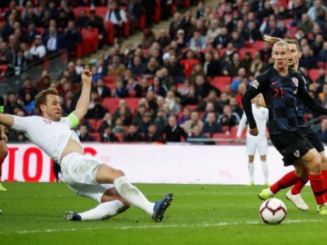 Anh - Croatia: Đòn đau bất ngờ và màn ngược dòng phi thường