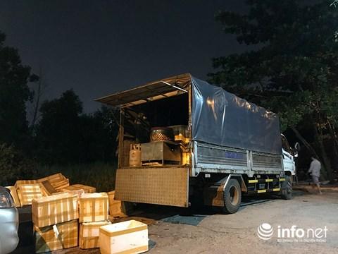 TP.HCM: Quản lý thị trường bắt xe tải chở 3 tấn chim cút đông lạnh bốc mùi - 1