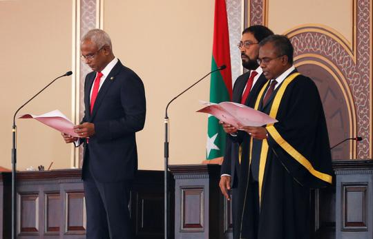 Tân tổng thống Maldives: Ngân sách nước nhà be bét vì nợ Trung Quốc - 1