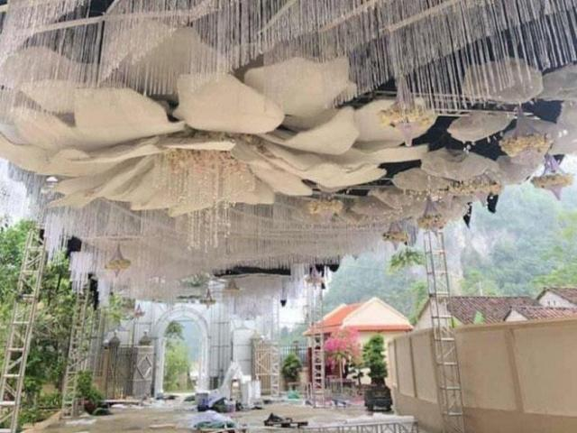 """Đám cưới """"siêu khủng"""" tại Cao Bằng, tiền rạp đã ngốn 2,5 tỷ đồng"""