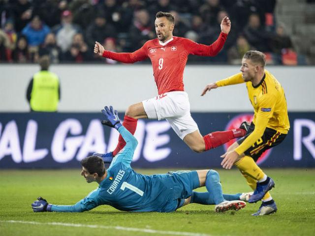 Kết quả bóng đá Thụy Sỹ - Bỉ: Tưng bừng đại tiệc 7 bàn thắng