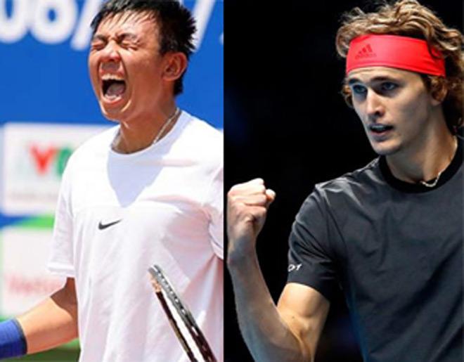 Bảng xếp hạng tennis 19/11: Bất ngờ Lý Hoàng Nam, Zverev vào top 4 - 1