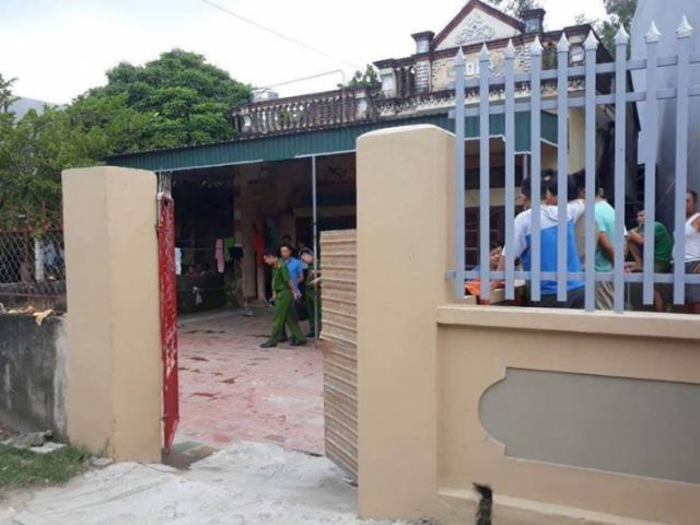 Nam thanh niên bị chém tử vong khi vừa mở cổng xóm trọ