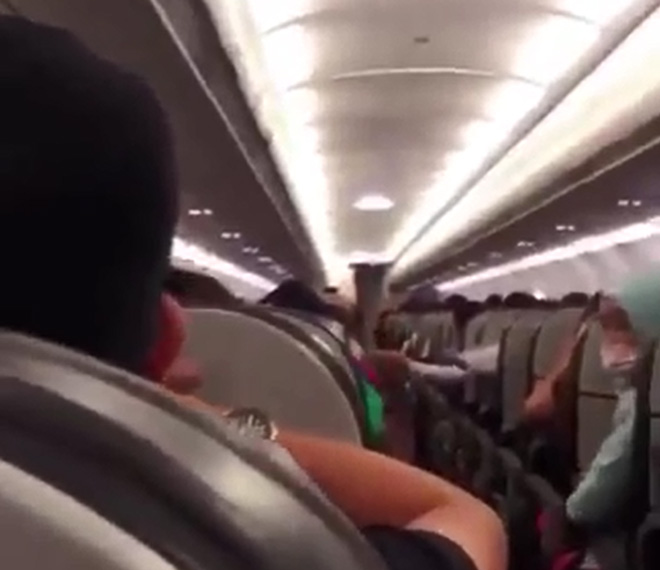 Hundreds of passengers hearing for fear of ... a & # 39; disturbing the plane - 1