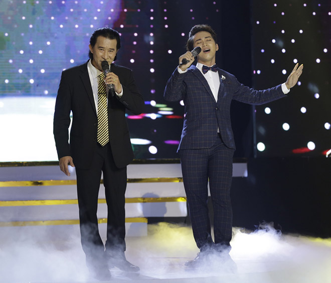 The Che Linh's son was eliminated from the Bolero competition due to wrong singing, a wrong rhythm - 1